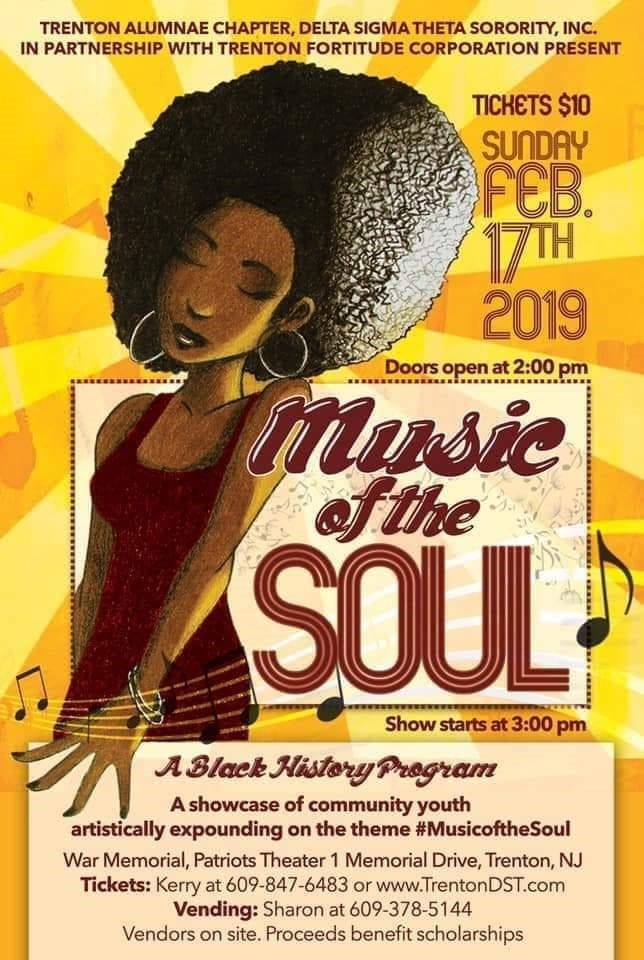 Trenton's Youth to Highlight Music of the Soul — TrentonDaily